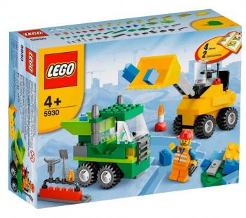 LEGO Road Construction Building Set