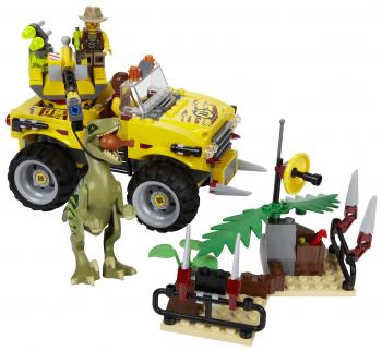 Lego Raptor Chase Creator Block Game