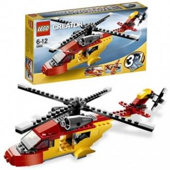 Lego Rotor Rescue Block Game