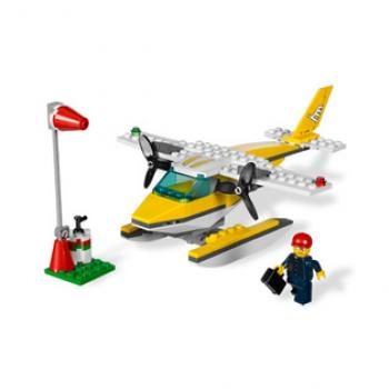 Lego Seaplane Block Game