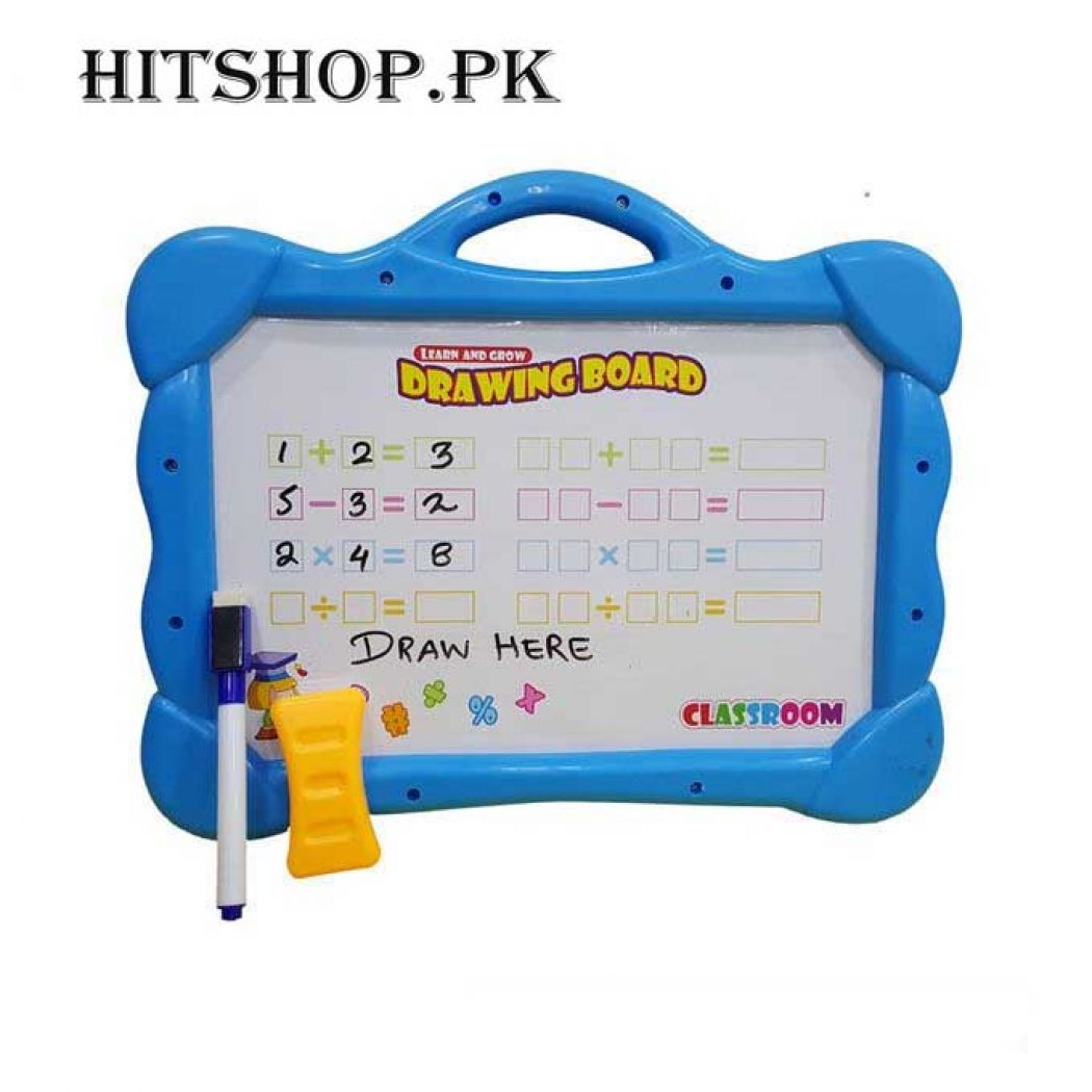Blue Magical Drawing Board With Magnetic Figures P