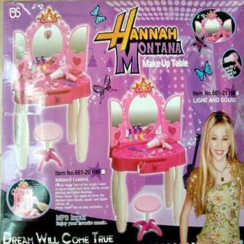 Hannah Montana Make Up Table
