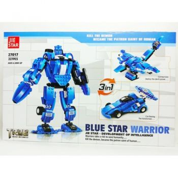 JIE Star Blue Star Warrior  3 in1