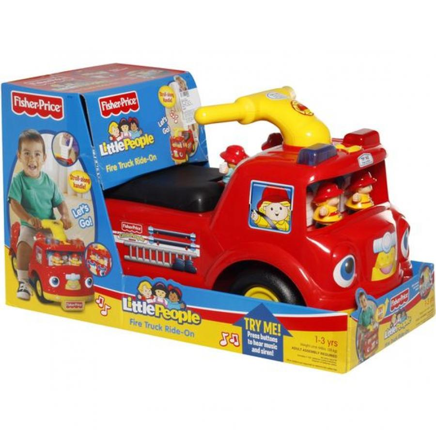 fisher price fire truck ride on in pakistan hitshop. Black Bedroom Furniture Sets. Home Design Ideas