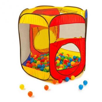 Magic Ball House With 100 Pieces Plastic Ball