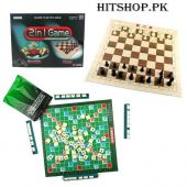 2in1 Scrabble And Chess Game