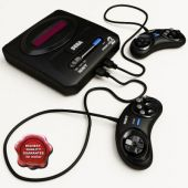 2 Sega Video Game Mega Drive Console with 368 Game