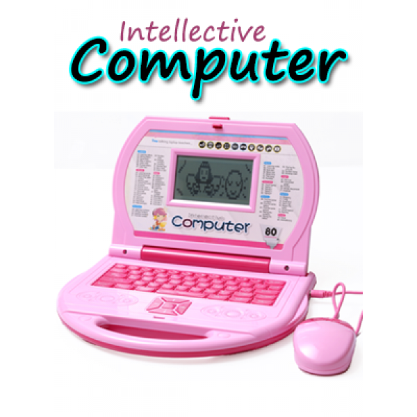 Intellective Computer Kids Learning Laptop 80 Activity