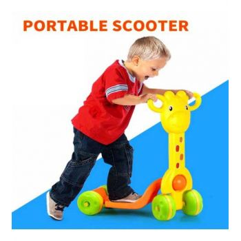 4 Wheeled Real Action Scooter For Children