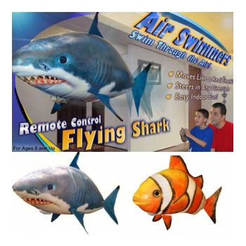 Inflatable Remote Control Flying Fish Shark