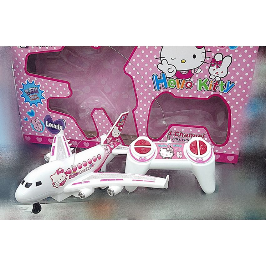 HELLO KITTY R/C PLANE With Remote