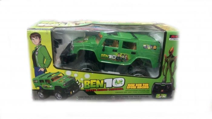 Ben 10 Remote Control Car With Rc Battery