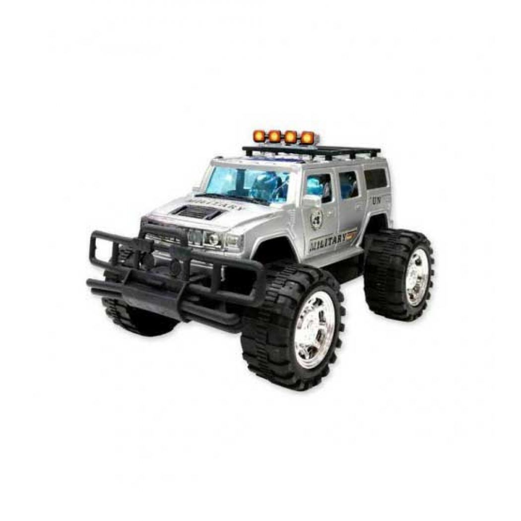 Silver Sports Jeep (Gravity Force)
