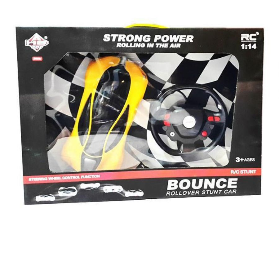 Bounce Rollover Stunt Car