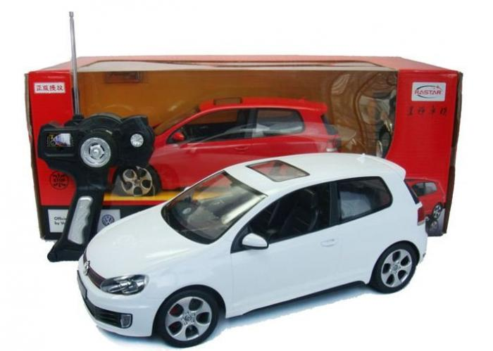 Cool Remote Control Cars: Genuine VW Golf Alloy Authorized Cool Sports Remote
