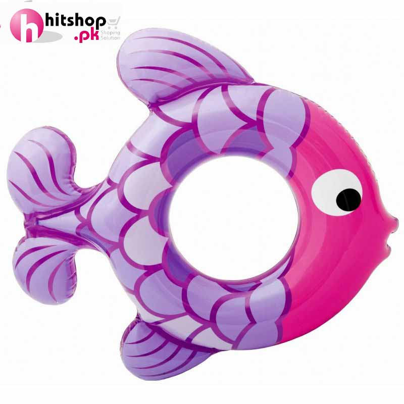 Intex Inflatable Swimming Ring Fish Shape 59222NP