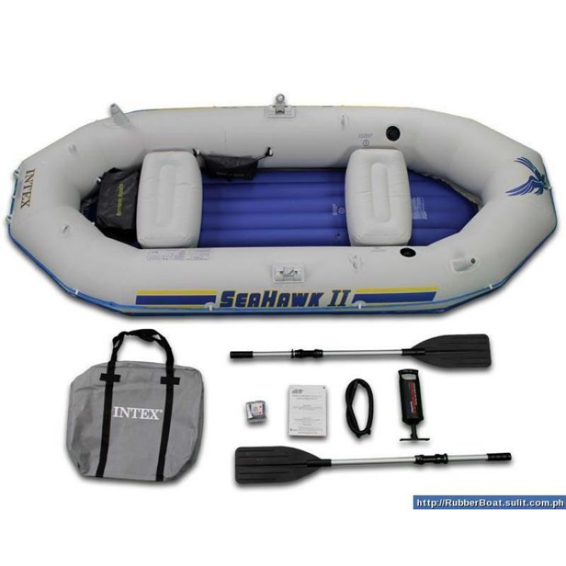 Intex Seahawk Ii Boat Set 3 Person In Pakistan Hitshop
