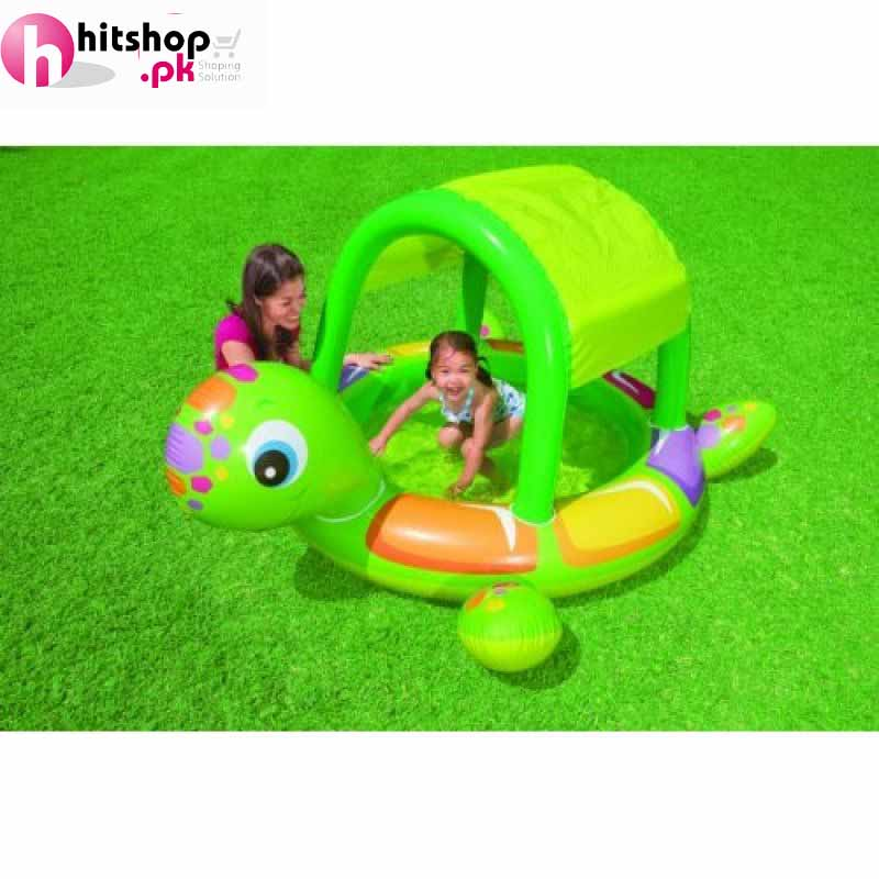 Intex turtle baby pool 57410np in pakistan hitshop for Intex swimming pools prices in pakistan