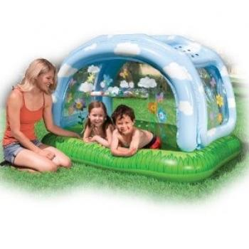 Intex, Paddling Pool with Complete Roof