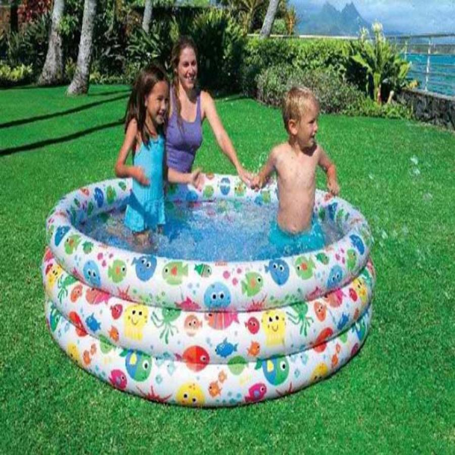 Intex colorful fish inflatable swimming pool in pakistan hitshop for Intex swimming pools prices in pakistan
