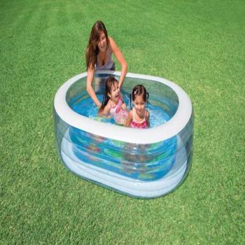Intex Whale Oval Pool Fun 57482NP