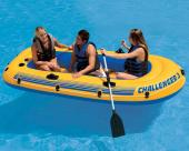 Intex Challenger 3 Inflatable Boat Set