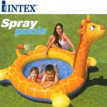 Intex Childrens Giraffe Inflatable Pool 57434NP