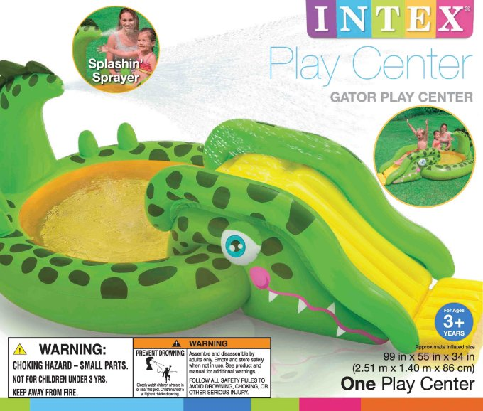 Intex 57132 NP/EP Gator Play Center