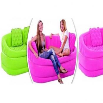 Flocked Inflatable Sofa PoP Lounge