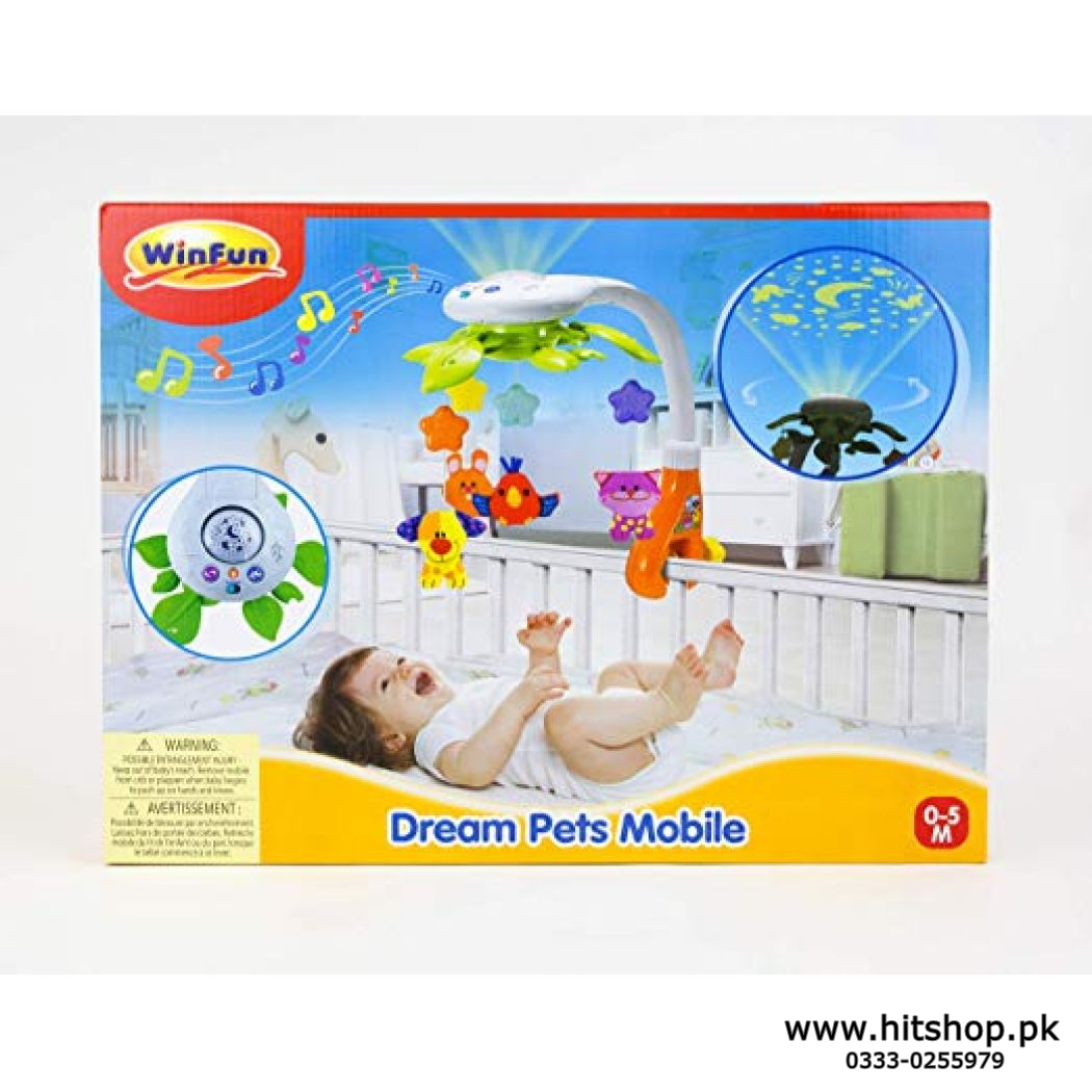 Borns Baby Entertained WINFUN DREAM PETS MOBILE