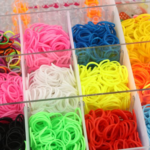Buy DIY an Ultimate 4200 Pieces Rubber Band Bracelet Maker
