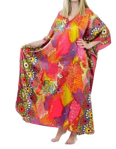 Taheras Caftans Multi Color Dress CAF 76