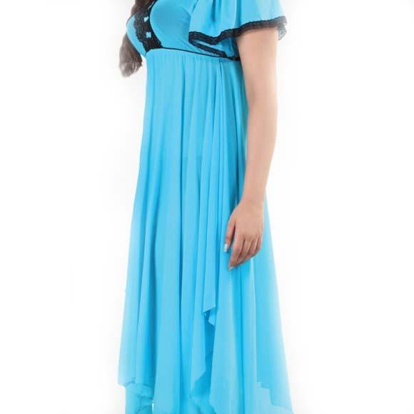 Petal style attractive nightwear in pakistan hitshop for Bano market faisalabad dresses