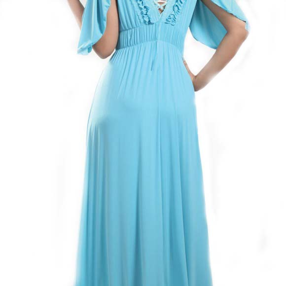 Classic and stylish long single piece nightwear in for Bano market faisalabad dresses