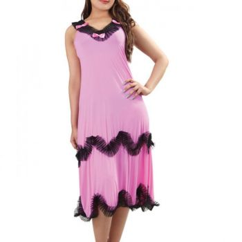 Sleeveless Short Length Nighty