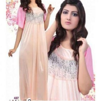 Stylish Bisque Nigh-ware Nighty