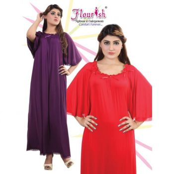 Women Wedding Nighty Flh