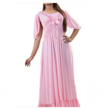 Classic And Stylish Long Single Piece Nightwear