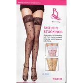 Women Ladies Fancy Leg Stocking