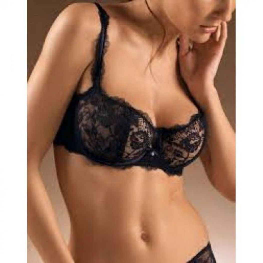 Net Black Stylish Tenddy Bra