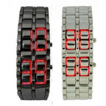 PACK OF 2 LAVA LED WATCHES