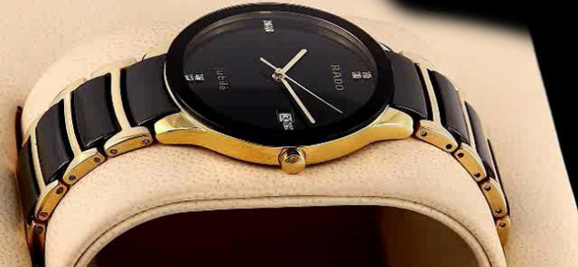 Rado Centrix Golden Black Watch