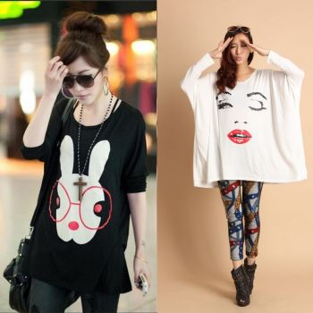2 Two Pcs Of New Style T Shirts For Women