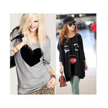 Bundle Of 2 Women Casual T Shirts