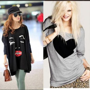 Double Pack of New Fashion T Shirts For Women