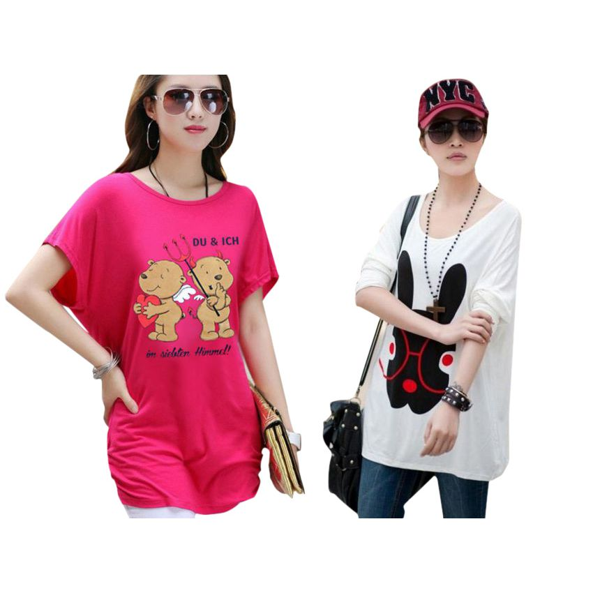 Two Bundle T Shirts For Womens