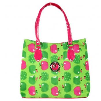 Ladies Green Apple Purse