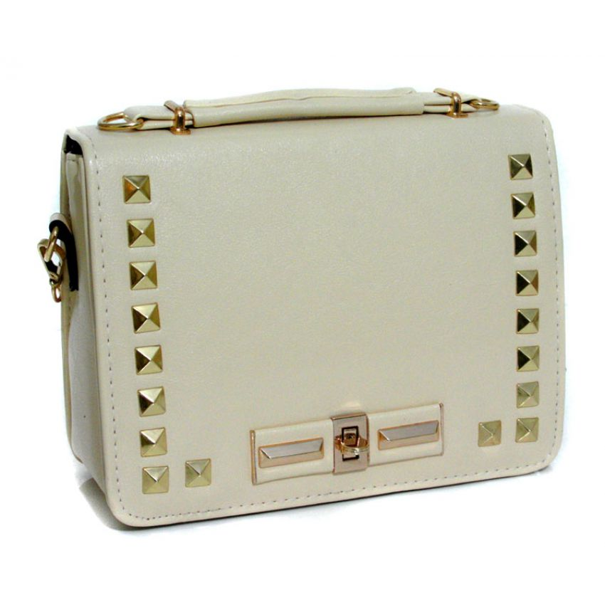 Womens Stylish White Handbag