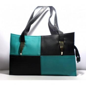 Double Color Hand Bag LBA 174