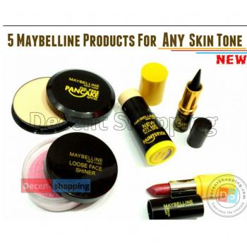 Pack Of 5 Maybelline New York Products
